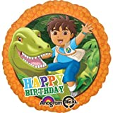 Anagram International HX Go Diego Go Birthday Packaged Party Balloons, Multicolor by Anagram International