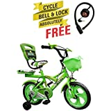 Speed Bird Cycle Industries Speed Bird Robust 14-T - Baby Cycle For Boys & Girls - Age Group 3-6 Years (Color Green)