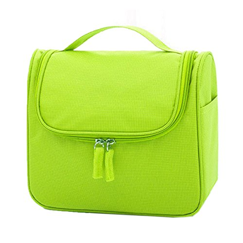 Jia Qing Sacchetto Cosmetico Portatile Impermeabile Delle Signore Sacchetto Cosmetico Portatile Multifunzionale Di Grande Capacità Sacchetto Cosmetico Generale Del Sacchetto Cosmetico Green