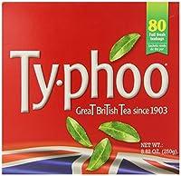 Typhoo Black Tea, 80ct Bags