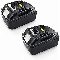2X Packs PowerWings 18 V batteria per Makita BL1830 BL1815 BL1840 BL1850 BL1860 5.0 AH 18.0 volts