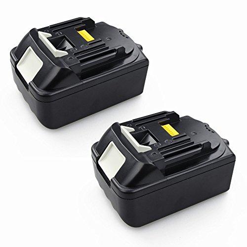 Preisvergleich Produktbild 2x Packs 18V 5000mAH Ersetzen Batterie für Makita BL1830 BL1850 Li-Ion Werkzeug Akku