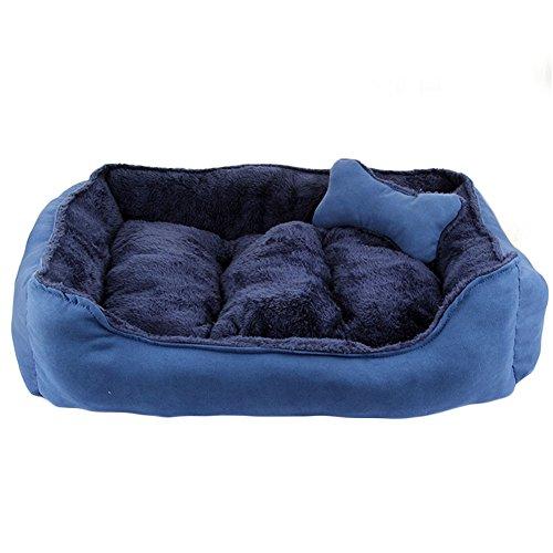 Cama mascotas lujo gatos pequeño perro mediano Cuddler
