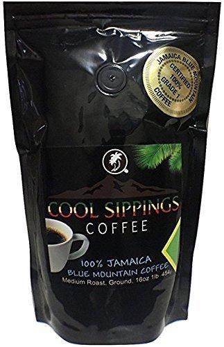 Jamaika Blue Mountain Kaffee (100% Arabica),454g, ganze Bohnen - Cool Sippings Coffee