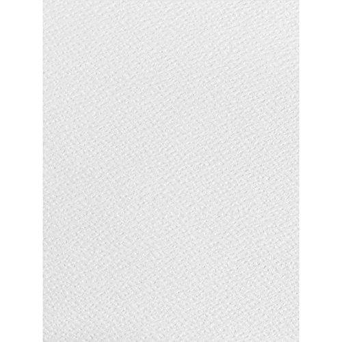 50x A4blatt weiß, Papier, strukturiert, 120g/m², geeignet für Inkjet und Laser-Drucker
