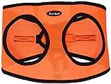 Bark Appeal Mesh Step In Geschirr, XXL, Neon Orange