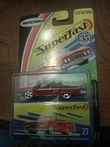 Matchbox Superfast 1961 Dodge Dart Phoenix 27