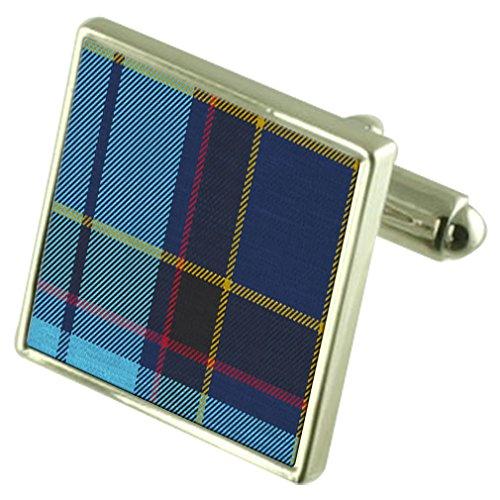 tartan-us-air-force-pipe-band-gemelos-en-caso-personalizado-grabado