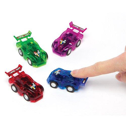 Voitures de Course à Friction Parfaites à Glisser dans les Pochettes-surprises pour que les Enfants puissent Jouer (Lot de 6)