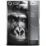 Coque Gel TPU de STUFF4 / Coque pour Sony Xperia XZ Premium / Gorille / Singe Design / Animaux sauvages Collection