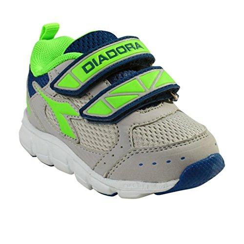 Diadora , Jungen Sneaker C4258 GRIGIO/BIANCO