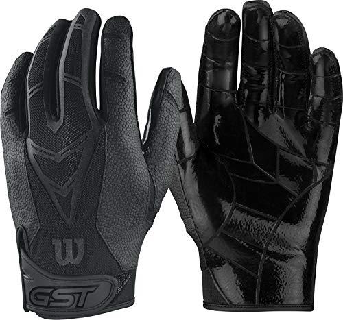 Wilson GST Skill American Football Receiver Handschuhe - schwarz Gr. L