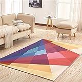 LH-RUG Hochwertige Super Soft Decke Modern Einfaches Haus Rechteckiger Teppich