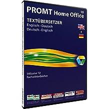 PROMT Home Office 10 Englisch-Deutsch, DVD-ROM Über 950.000 Wörtern und Wendungen