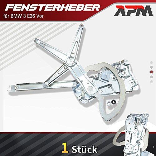 APM-Autoteile Fensterheber Ohne Motor Vorne Links für BMW E36 316i 318i 320i 323i 325i 328i M3