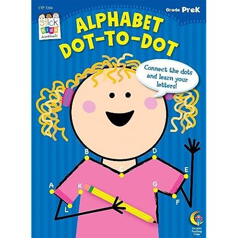 Alphabet Dot-To-Dot, Grade Prek