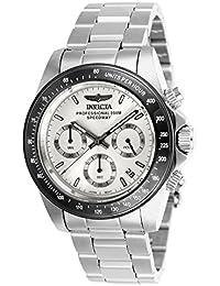 Invicta Speedway Men's Chronograph Quartz Watch with Stainless Steel Bracelet – 26111