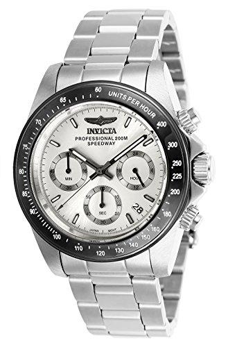 Invicta 26111 Speedway Reloj Unisex acero inoxidable Cuarzo Esfera plata