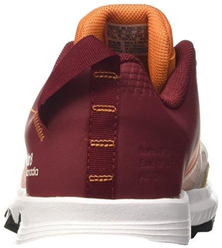adidas Kanadia 8 TR M - Chaussures de Course - Homme - - Rouge (Arancionenartac/blatiz/buruni)