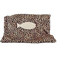 JLFAIRY Moda Mascota Gato Hamaca Suave Fleece Cat Kitty Radiador Hamaca Cama Calefactor Cama Siesta Cálido