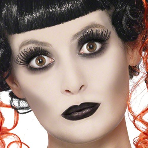 Gothic Make Up Set Halloween Schminke Geist Steampunk Schminkset Geister Faschingsschminke Tod Karnevalsschminke Grufti (Make Geist Up Halloween)
