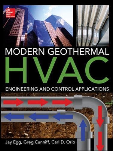 Modern geothermal HVAC engineering and control applications (Informatica) por Jay Egg