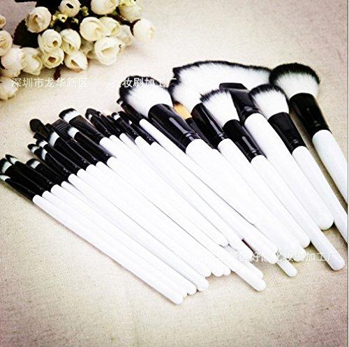 XUAN Noir blanc 36 PCs pinceau de maquillage professionnel mis « makeup tools », ensemble de pinceau maquillage