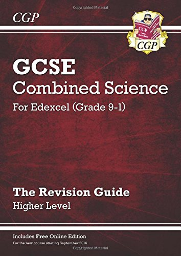 New Grade 9-1 GCSE Combined Science: Edexcel Revision Guide with Online Edition - Higher (CGP GCSE Combined Science 9-1 Revision)