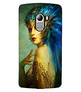 ColourCraft Fantasy Girl Design Back Case Cover for LENOVO VIBE K4 NOTE