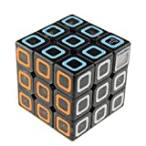 #8: EMOB 3x3 Colourful Magic Speed Rubik Cube Puzzle Toy With Inbuilt Timer