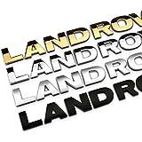 plantilla RNR Letras de Land Rover en negro mate mate con texto /«Discovery Defender Freeland/»
