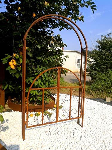 Zen Man Vorbestellung Wieder möglich zum Vorteilspreis Garteninspiration Rosenbogen Handarbeit 031346 H210*L120*20cm