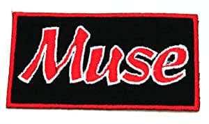 Muse Logo Iron on Patch for Clothing Jacket
