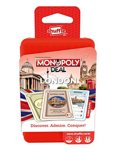 Shuffle 254.589.290,2cm Monopoly Deal Städte London