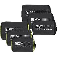 Preisvergleich für MiraFit Weiches Sporthandtuch aus Mikrofaser - leicht und schnell trocknend - verschiedene Größen und Farben