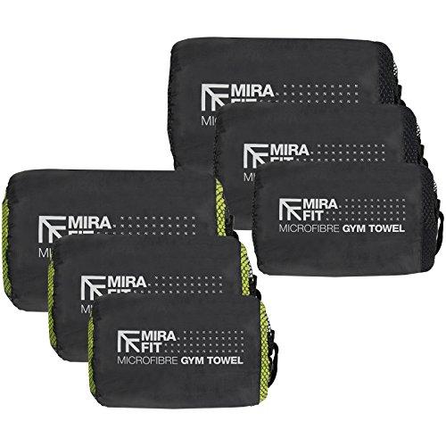 MiraFit Weiches Sporthandtuch aus Mikrofaser - leicht und schnell trocknend - verschiedene Größen und Farben preisvergleich