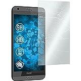 PhoneNatic 2 x Glas-Folie klar kompatibel mit HTC Desire 630 - Panzerglas für Desire 630