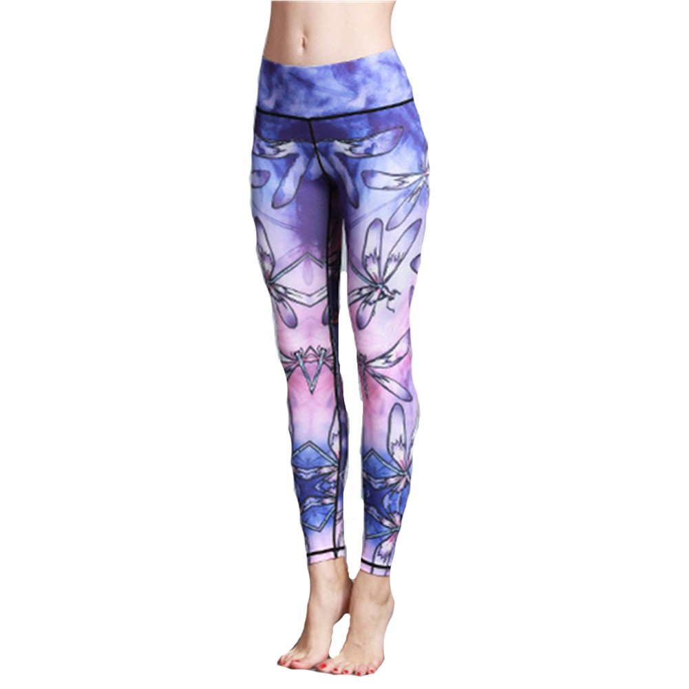 e51318d9421ad6 Yoga Leggings for Women High Waist, Morbuy Sport Running Gym Workout  Fitness Plus Size Pants Ladies Compression Stretch Tights - UKsportsOutdoors