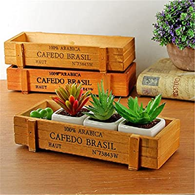 Stayeal Cosmetic Caddy/Make Up Storage Box/Beauty Organizers, Wood - inexpensive UK light store.