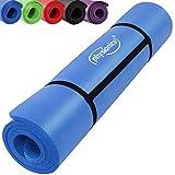 Physionics Fitnessmatte Bodenmatte geeignet als Yogamatte, für Pilates uvm., in der Größe 180 x 60 x 1.5 cm und 190 x 100 x 1.5 cm mit Farbwahl