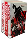 A Darker Shade of Magic By V.E. Schwab 3 Books Collection Set (A Darker Shade of Magic, A Gathering of Shadows, Vicious)