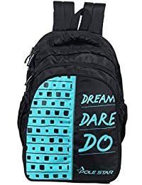 "POLE STAR ""BIG-4"" 36 Lt Black Backpack I School Bag (T.Blue)"