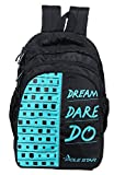 #6: POLESTAR BIG-4compartment36 Liters Blk/T. Blue laptop/ Casual Backpack School Bag