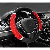 NIKAVI Silk Steering Wheel Cover (RED)