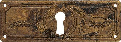 Schlüsselblatt Jugendstil - Liberty 33 x 97 - Qualität aus Europa seit 1998