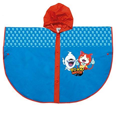 Kostüm Yokai - Perletti perletti99618Yo-Kai Armbanduhr Design Poncho Regenmantel
