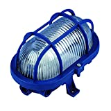 REV Ritter Ovalleuchte, 60 W, blau, 0590048555