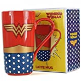 Wonder Woman Tazza Latte Logo, Ceramica, Unica