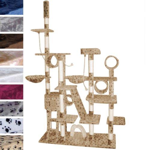 Produktabbildung von Leopet Katzen Kratzbaum deckenhoch extra hoch ca. 230cm in verschiedenen Farben