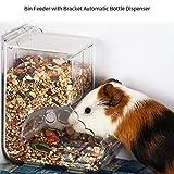 Augproveshak Distributeur de Nourriture pour Hamster, Distributeur Automatique de Nourriture pour Hamster, Hamster, Cochon d'Inde, Hérisson, Pigeon, Perroquet